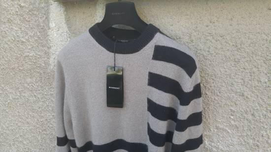 Givenchy Givenchy Striped Stars Wool and Mohair Cuban Fit Knit Sweater size XL (M / L) Size US XL / EU 56 / 4 - 5