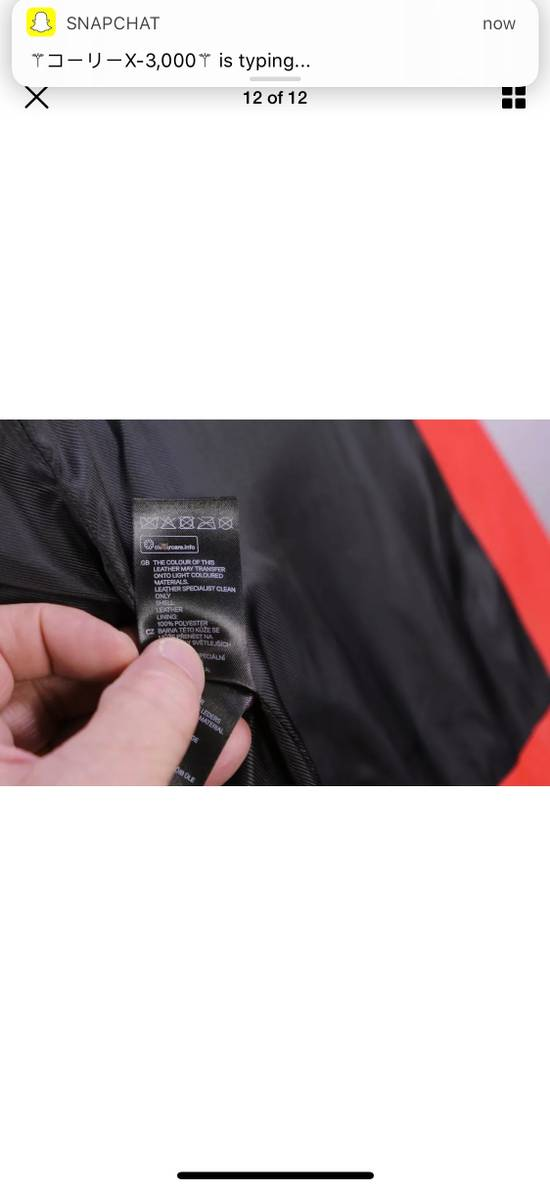 Balmain H&M x Balmain Red Leather Biker Jacket Size US S / EU 44-46 / 1 - 9