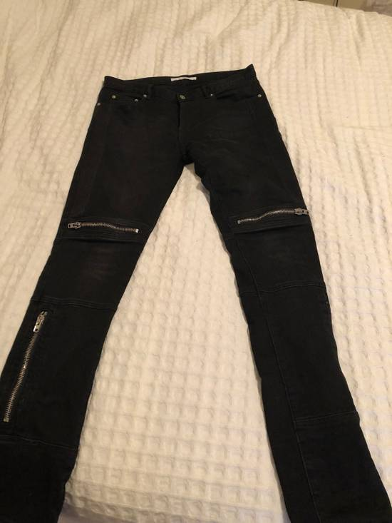 Givenchy Zipper Jeans Size US 32 / EU 48