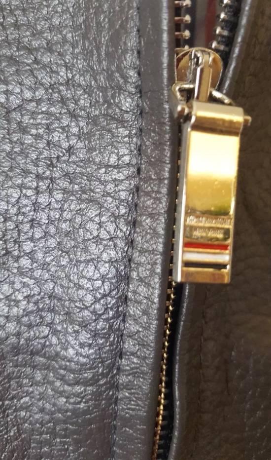 Thom Browne 4 Bar Stripe Leather Bomber Jacket Black Size US S / EU 44-46 / 1 - 2