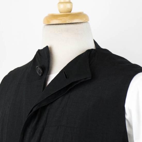 Julius 7 Men's Black Silk Blend Long Vest Size 3/M Size US M / EU 48-50 / 2 - 4