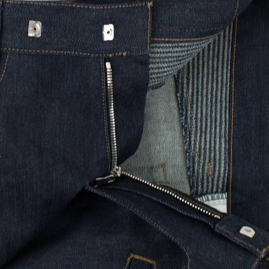 Balmain Blue Denim 'Biker Brut' Slim Fit Jeans Pants Size US 32 / EU 48 - 1