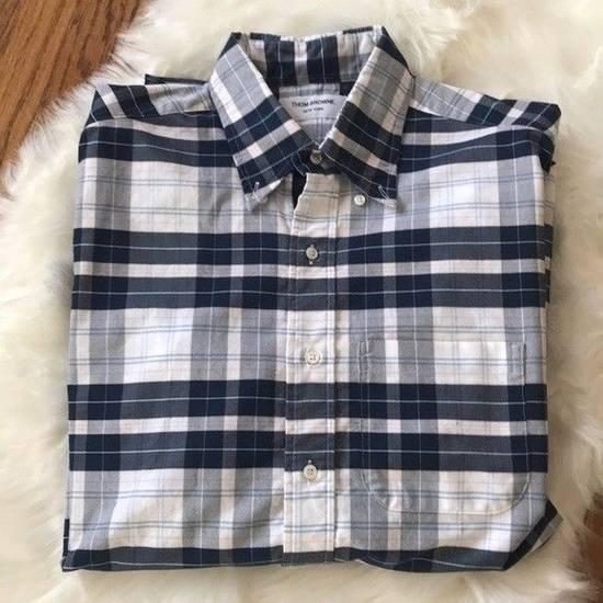 Thom Browne Thom Browne Madras Plaid Cotton Shirt Size US M / EU 48-50 / 2 - 2