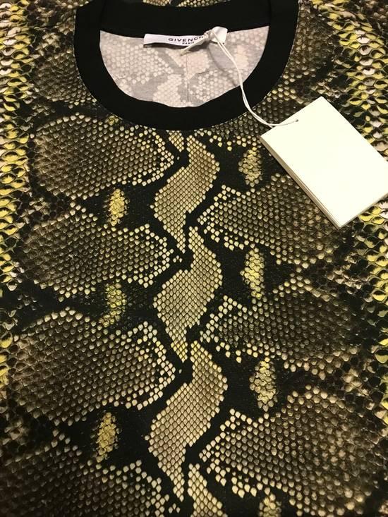 Givenchy Snakeskin Print Cotton T-Shirt Size US XL / EU 56 / 4