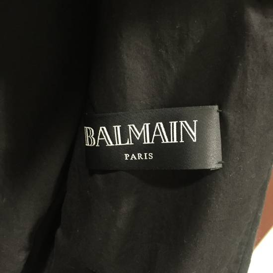 Balmain Waxed Moleskin Biker Jacket Size US XL / EU 56 / 4 - 3