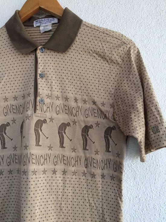 Givenchy Vintage Givenchy Overprint printed Play Golf Polo Shirt Size US S / EU 44-46 / 1 - 1