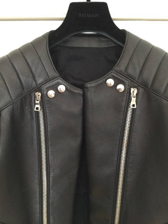 Balmain Balmain Leather Biker Jacket Size US M / EU 48-50 / 2 - 1
