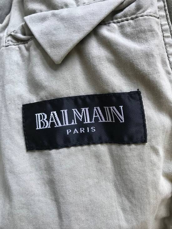 Balmain Decarnin Destroyed Saharian Jacket Size US M / EU 48-50 / 2 - 7