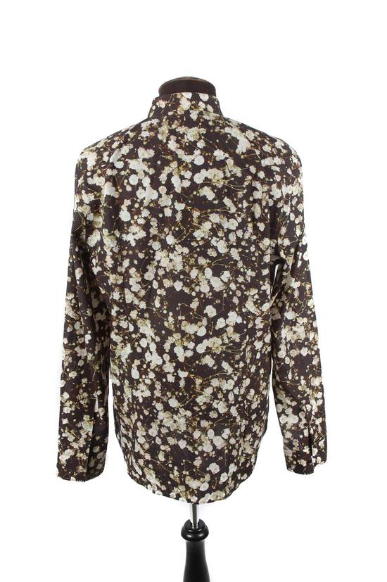 Givenchy Givenchy Black Cotton Floral Button-Down Size US M / EU 48-50 / 2 - 2