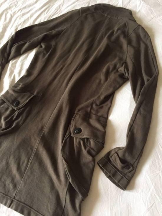 Julius Japan made long jersey oversize Popper fastening Gasmask pocket jacket Size US S / EU 44-46 / 1 - 16