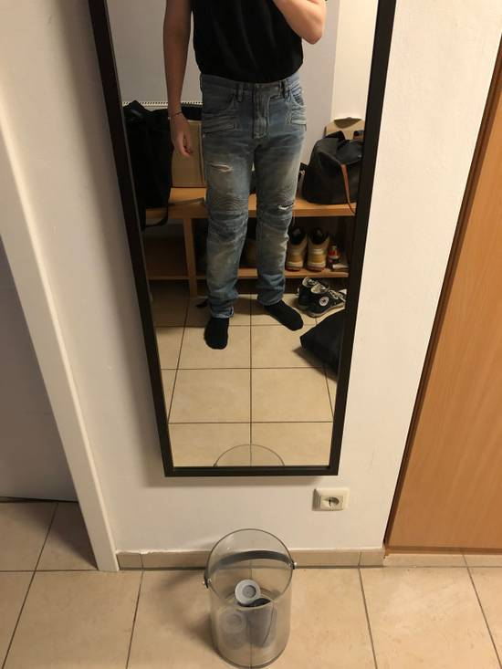 Balmain Balmain Biker Denim Jeans Size 33 Size US 33 - 13