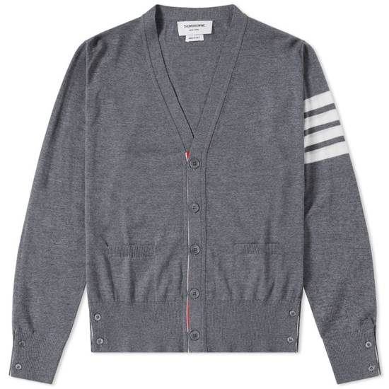 Thom Browne Merino Wool 4 Bar Cardigan Size US L / EU 52-54 / 3 - 9