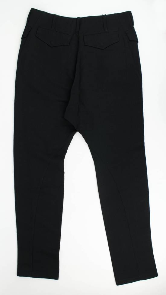 Julius 7 Black Cotton Blend Casual Trousers Pants Size 3/M Size US 34 / EU 50 - 3