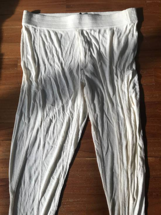 Julius SS10 cream rib leggings Size US 32 / EU 48 - 2