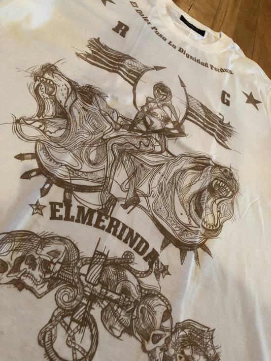 Givenchy Givenchy T Shirt White El Merinda Print Size US L / EU 52-54 / 3 - 1