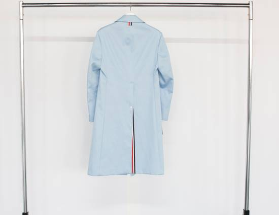 Thom Browne Light Blue Mackintosh Overcoat Size US XS / EU 42 / 0 - 1