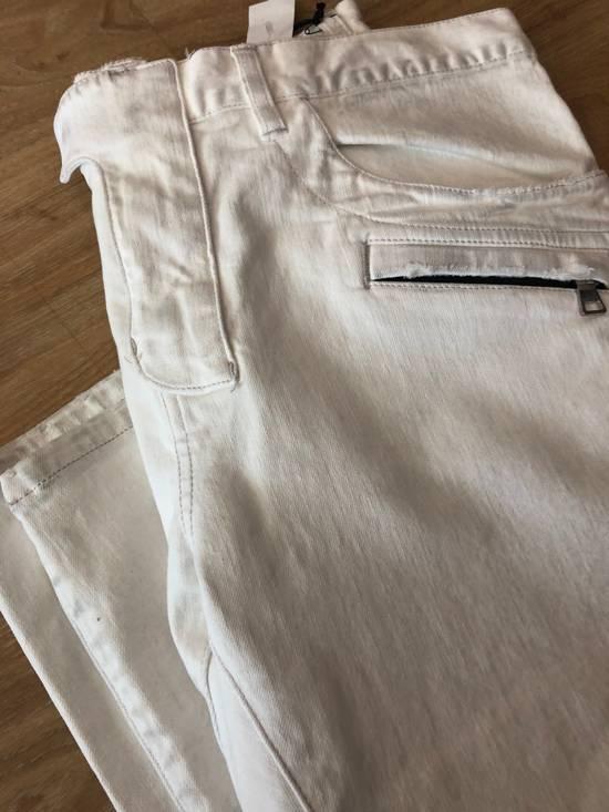 Balmain NWT, THE BEST! Biker Jeans (WAS $1650) - RUNS SMALLER Size US 36 / EU 52 - 4