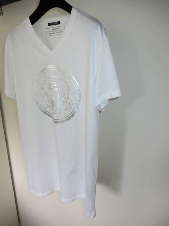 Balmain V-neck logo t-shirt Size US L / EU 52-54 / 3 - 3