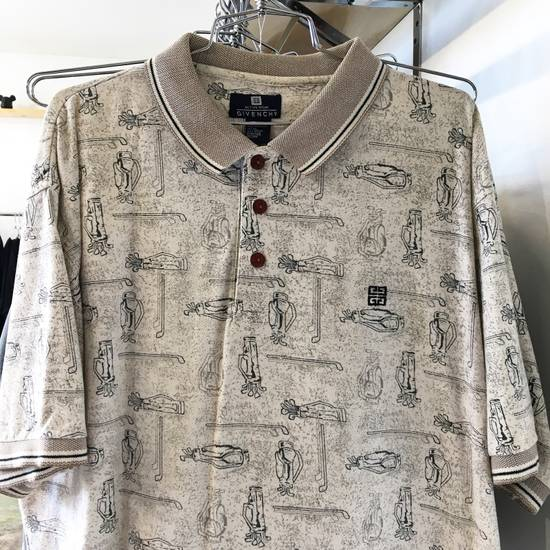Givenchy Golf Print Polo Size US XL / EU 56 / 4