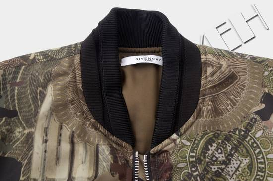 Givenchy 2995$ American Dollar Camouflage Bomber Jacket Size US S / EU 44-46 / 1 - 10