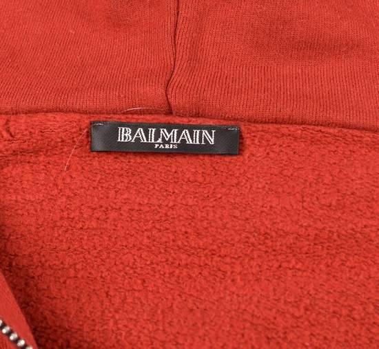 Balmain Hooded Balmain Jumper Top Side Zips Size US M / EU 48-50 / 2 - 3