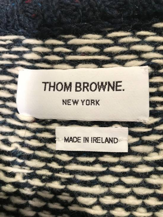 Thom Browne Jacquard-Knit Wool and Mohair-Blend Fairisle Sweater Size US M / EU 48-50 / 2 - 4