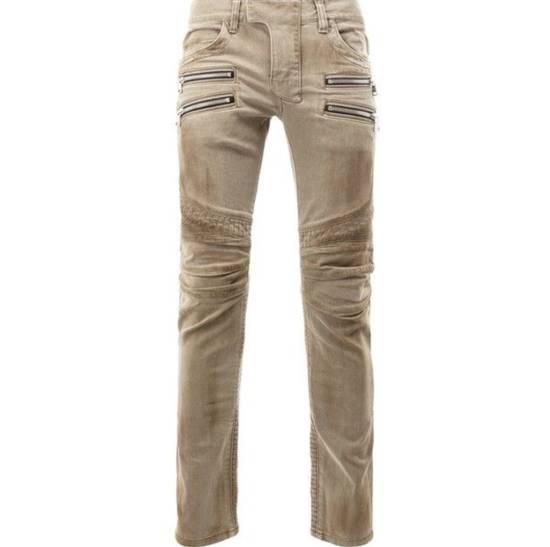 Balmain Biker Jeans Size US 32 / EU 48 - 1