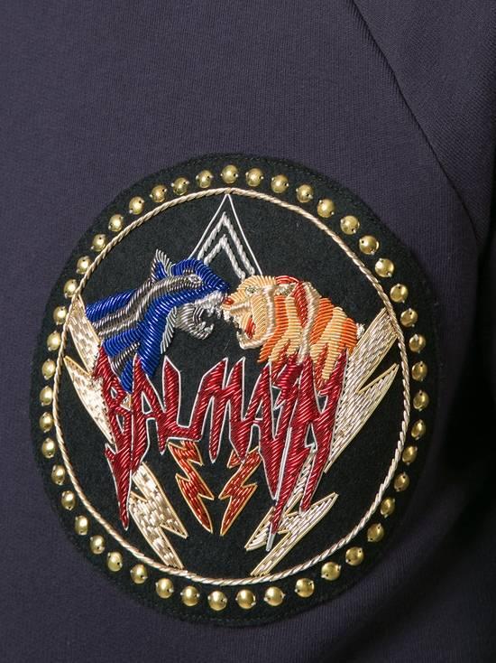 Balmain logo patch sweatshirt Size US S / EU 44-46 / 1 - 1