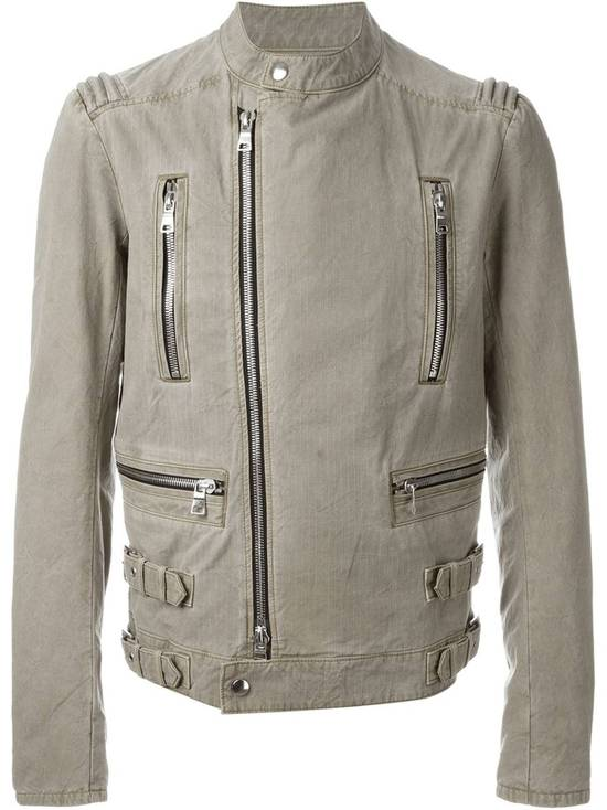 Balmain Zip biker jacket Size US XL / EU 56 / 4 - 1