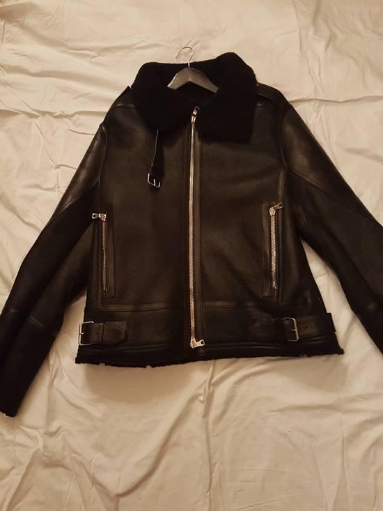 Balmain LAST DROP !!Shearling Leather Aviator Bomber Jacket Size US L / EU 52-54 / 3