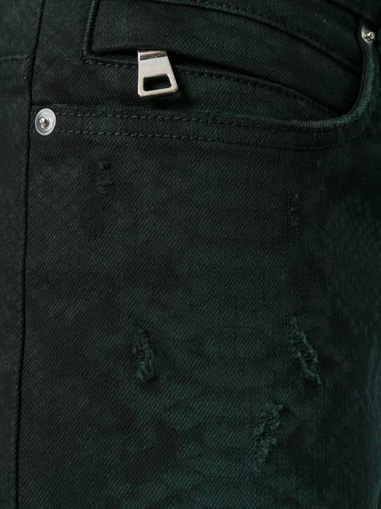 Balmain Size 36 - Distressed Snake Print Rockstar Jeans - FW17 - RARE Size US 36 / EU 52 - 12