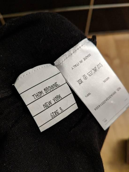 Thom Browne Black wool stripe knit, size 5 - RARE Size US L / EU 52-54 / 3 - 4