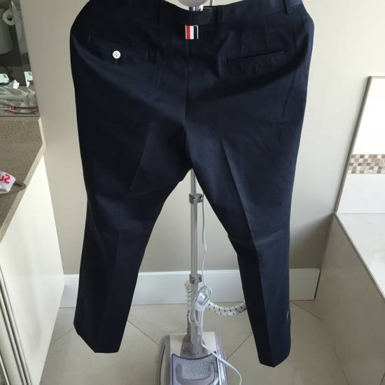 Thom Browne Navy Chino Size US 33 - 2