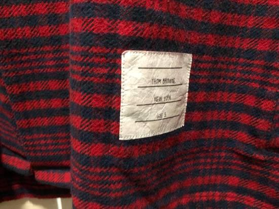 Thom Browne Thom Browne Flannel Shirt Jacket - TB 5 - Kanye Size US XL / EU 56 / 4 - 4