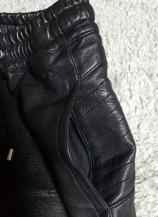 Balmain Leather Black Training Biker Size US 30 / EU 46 - 10