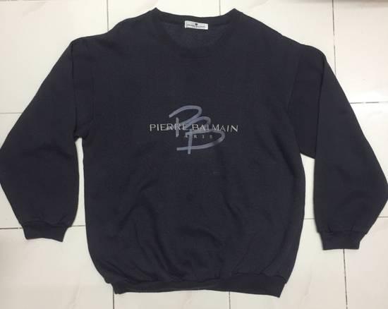 Balmain ⚡️Final Drop⚡️Pierre Balmain Embroidered Spellout Sweatshirt Size US L / EU 52-54 / 3 - 1