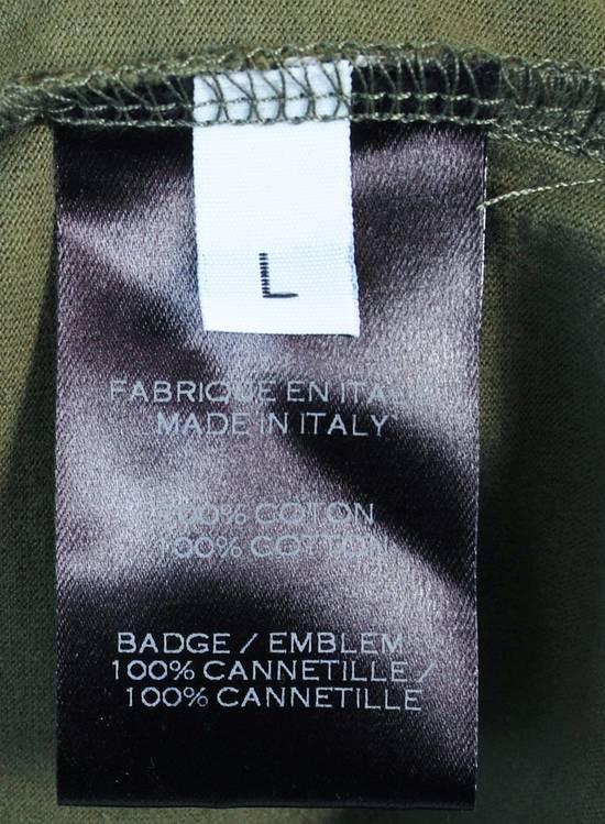 Balmain Original Balmain Distressed Elements Khaki Men T-Shirt in size L Size US L / EU 52-54 / 3 - 6