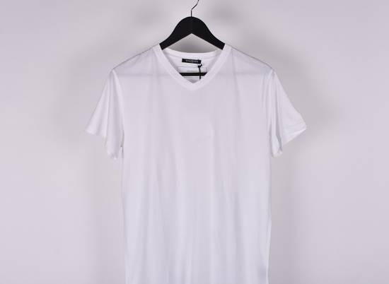 Balmain Paris Men White V Neck T-Shirt, NWT Size US M / EU 48-50 / 2 - 1