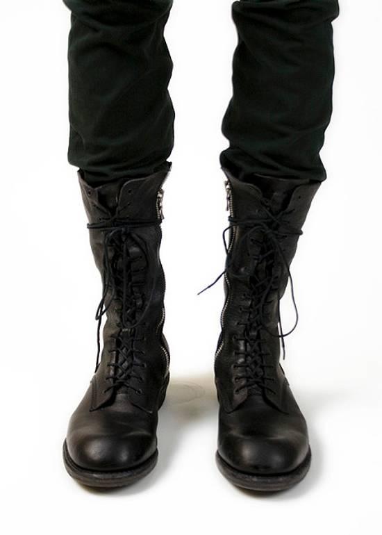 Julius f/w09 Tall Combat Boots Black Size US 11 / EU 44 - 15
