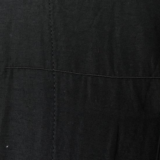 Julius 7 Men's Black Silk Blend Long Vest Size 3/M Size US M / EU 48-50 / 2 - 6
