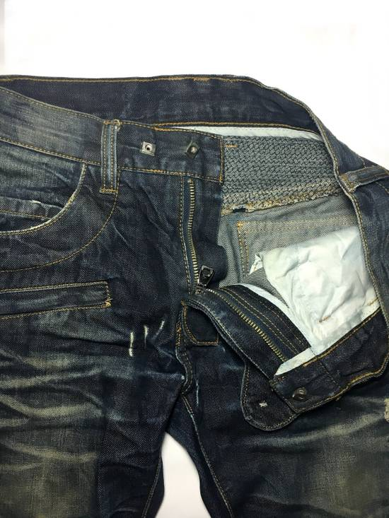 Balmain BALMAIN DISTRESSED BIKER JEANS. REFERENCE MODEL T511-B317 Size US 30 / EU 46 - 4