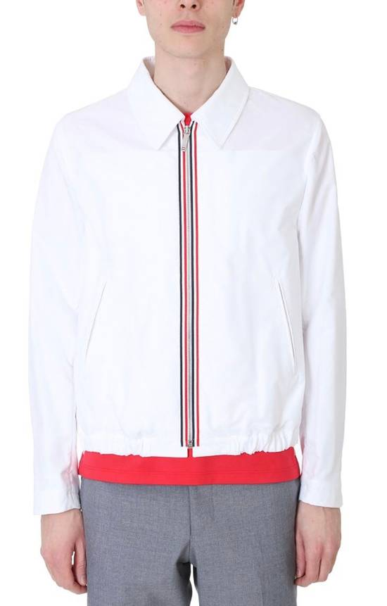 Thom Browne Brand New Thom Browne Strip Embroidered Jacket Size US S / EU 44-46 / 1 - 4