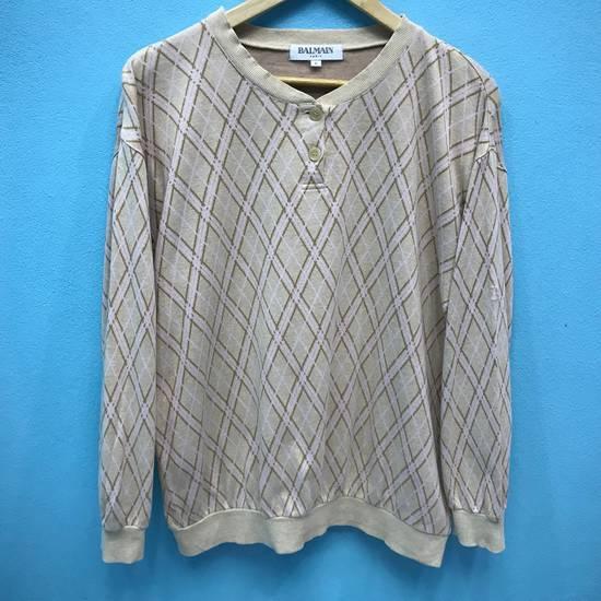 Balmain Vintage BALMAIN Sweatshirt Balmain Paris Small Logo Embroidery Size US L / EU 52-54 / 3