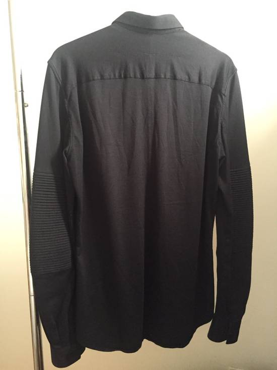 Givenchy Black Cotton Shirt with Sleeve Detail Size US S / EU 44-46 / 1 - 2