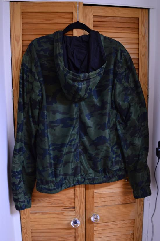 Givenchy Givenchy camo perforated zip-up hooded jacket Size US S / EU 44-46 / 1 - 1