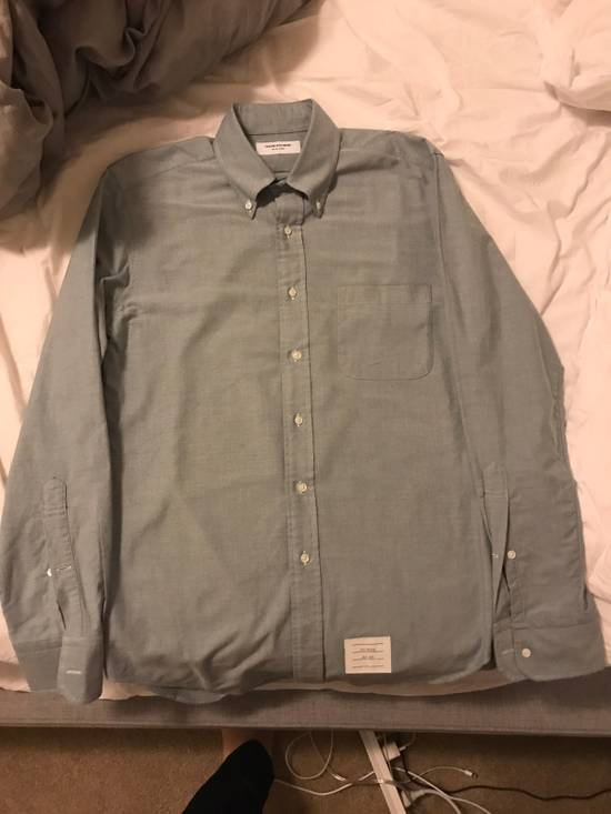 Thom Browne Green Button Down Oxford (Originally $600+) Size US M / EU 48-50 / 2 - 5