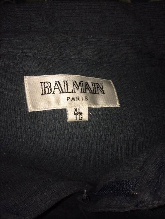 Balmain Balmain Paris Long Sleeve Half Zip Size US XL / EU 56 / 4 - 1