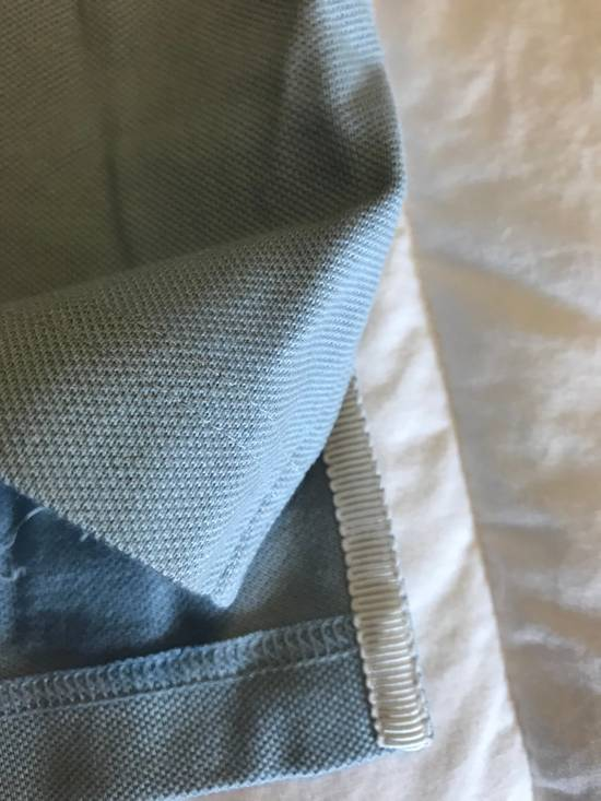 Thom Browne Black Fleece Baby Blue Polo With White Grosgrain Size US XS / EU 42 / 0 - 2