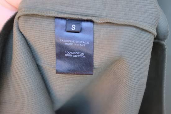 Balmain Khaki Ribbed Knit Long Sleeve T-shirt Size US S / EU 44-46 / 1 - 4