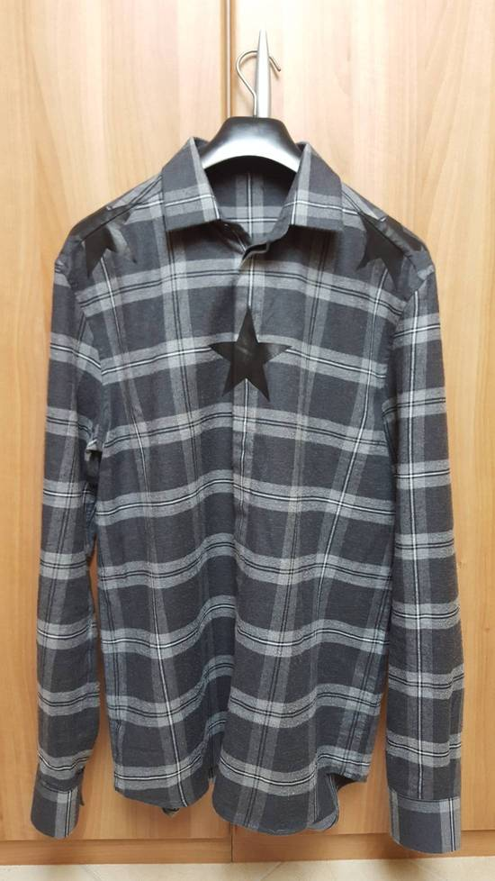 Givenchy Stars printed Cotton-twill shirt Size US S / EU 44-46 / 1